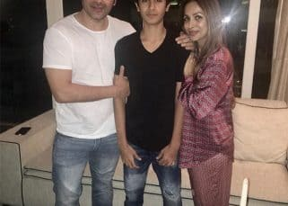 Malaika Arora Khan and Arbaaz Khan get back together but only for their son Arhaan's birthday - view pics