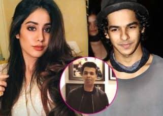 Karan Johar to announce Jhanvi Kapoor and Ishaan Khatter's film Dhadak today!