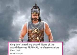 Twitter thinks Prabhas aka Bahubali is way too good for Nandi Awards - check tweets