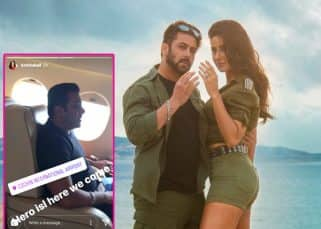 [VIDEO] Salman Khan and Katrina Kaif take off to Cochin for the grand opening ceremony of Indian Super League 2017