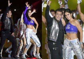 Katrina Kaif and Salman Khan set the stage on fire as they perform together at ISL 2017 - view pics