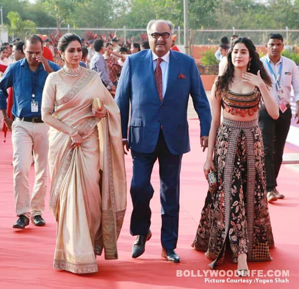 International Film Festival Of India 2017 Dhadak Co Stars Janhvi