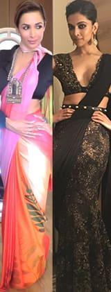 Deepika Padukone, Malaika Arora are here to reinvent the saree game