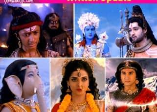 Mahakali -Anth Hi Aarambh Hai 18th November 2017 Written Update Of Full Episode: Parvati protects Kartikeyan and Ganesh while Andhak plots evil