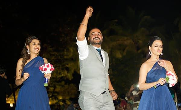 Aashka Goradia and Brent Goble looked like million bucks in