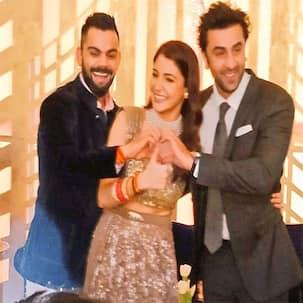 Channa Mereya 2.0: Ranbir Kapoor strikes the Ae Dil Hai Mushkil pose at Anushka Sharma-Virat Kohli's Mumbai reception