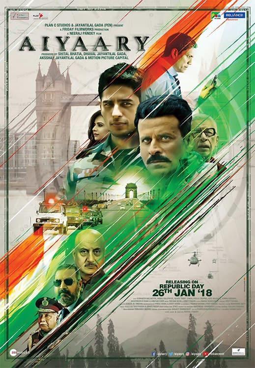 Aiyaary 2018 New Hindi Full Movie HD