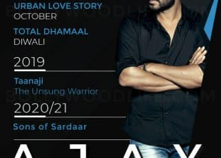 Raid, Total Dhamaal, Taanaji: Ajay Devgn's films in next few years will make his fans really happy!
