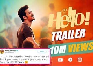 Akhil Akkineni's Hello trailer crosses 10 million views