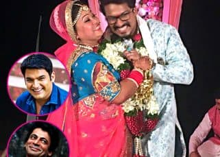While Kapil Sharma skips Bharti Singh and Haarsh Limbachiyaa's wedding, Krushna Abhishek and Sunil Grover bond big time