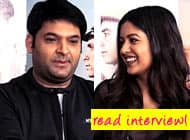 Kapil Sharma admits feeling awkward while romancing actresses on screen – watch video!