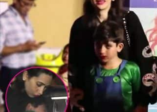 Karisma Kapoor's son left in tears after his annual day function - watch video