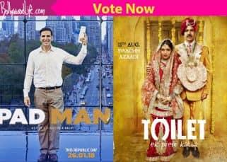 Padman or Toilet: Ek Prem Katha: Which trailer of Akshay Kumar's films did you like more?