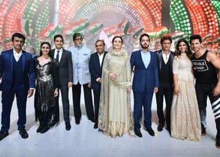 RIL 40:  Shah Rukh Khan, Amitabh Bachchan, Varun Dhawan, Alia Bhatt make the show a starry affair - view pics!