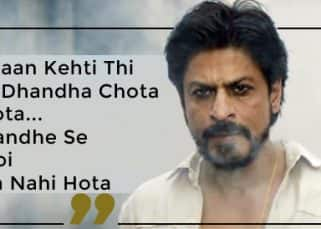 Shah Rukh Khan's 'Ammi Jaan Kehti Thi' and other killer dialogues that made us whistle in 2017