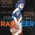 साल 2018 और 2019 में रणवीर सिंह लेकर आ रहे हैं यह 4 जबरदस्त फिल्में, देखिए पूरी लिस्ट !!