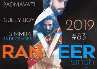 Padmavati, Gully Boy, Simmba: Ranveer Singh's film slate shows his acting mettle and versatility