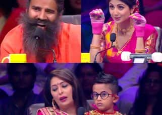 Super Dancer Chapter 2: Baba Ramdev gets trolled by little Akash as Shilpa Shetty is forced to cut off her nails