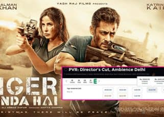 Rs 2400! That's how much an afternoon show ticket of Salman Khan's Tiger Zinda Hai will cost you