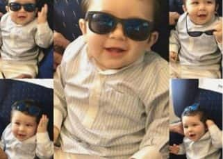 Birthday Boy Taimur has his swag game strong with a Kaala Chashma - view pic!
