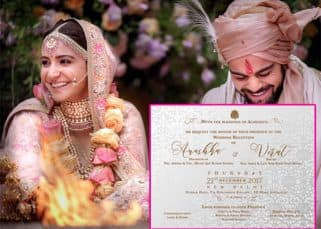 Here's when Anushka Sharma and Virat Kohli will hold their wedding reception