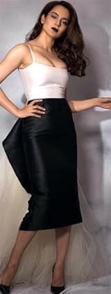 Kangana Ranaut's sultry attire will make you go HOT DAMN!