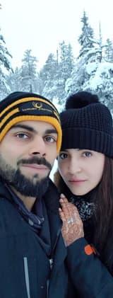 Anushka Sharma and Virat Kohli's first honeymoon pic goes VIRAL this week