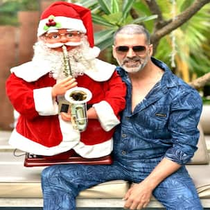 Akshay Kumar undergoes a drastic makeover and this time it is NOT for a film but for Christmas - view pic!
