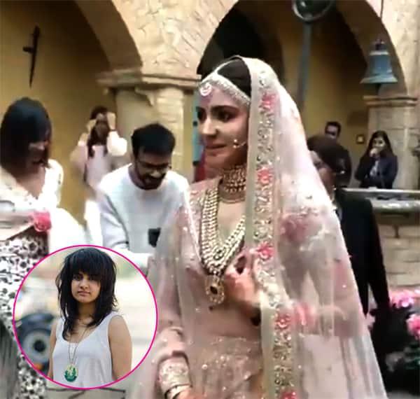 Video Anushka Sharma S Bridal Entry To Phillauri Song Sends
