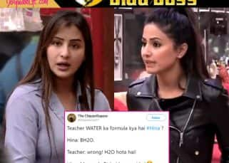 Bigg Boss 11: Hina forbids Shilpa from using tap water while cooking and Twitterati can't stop laughing