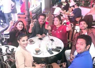Bharti Singh and Haarsh Limbachiyaa's end up spending time with friends on their honeymoon - view pics!