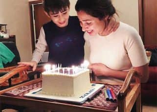 Mahira Khan celebrates her birthday with son Azlaan by her side - watch video