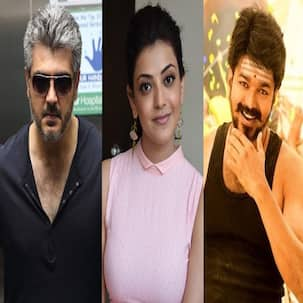 Kajal Aggarwal remembers working with Ajith and Vijay in Vivegam and Mersal