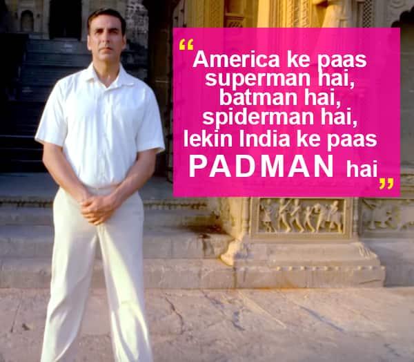 Akshay Kumar's PadMan trailer is here!