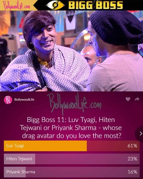 Bigg Boss 11: Not Hiten Tejwani or Priyank Sharma but fans loved Luv Tyagi's drag avatar the most