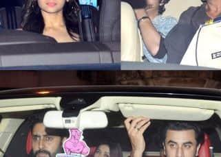 [ALL PHOTOS] Shah Rukh Khan - Aryan, Aishwarya - Abhishek, Ranbir Kapoor, Alia Bhatt party together at Karan Johar's Christmas bash