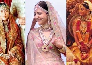 Not just Anushka Sharma but Kareena Kapoor Khan, Aishwarya Rai Bachchan too stunned us with their wedding attires