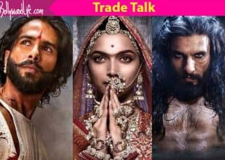 Rs 200 crore! That's the amount of money riding on Ranveer-Deepika-Shahid's Padmaavat