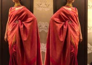 Deepika Padukone's saree at the HT Style Awards 2018 is a gift by someone special and we know who