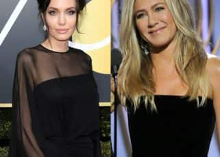 Ouch! Jennifer Aniston AVOIDS the red carpet at the 75th Golden Globe Awards to not bump into Angelina Jolie?