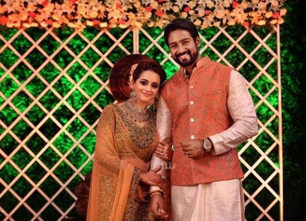 Bhavana and Naveen reception 2