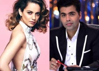 Kangana Ranaut takes a massive dig at Karan Johar, says he serves poison to his guests!