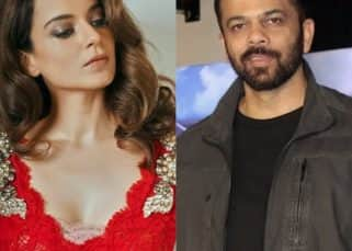 You won't believe how Rohit Shetty reacted on being touched by Kangana Ranaut on India's Next Superstars