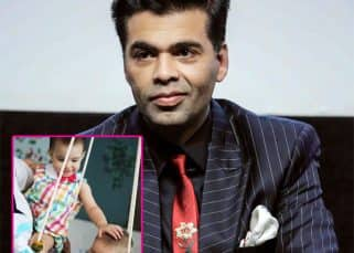 This picture of Karan Johar's twins Yash and Roohi is what sibling love is all about