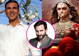 Deepika Padukone's Padmavat or Akshay Kumar's Padman? Saif Ali Khan takes his pick - watch video
