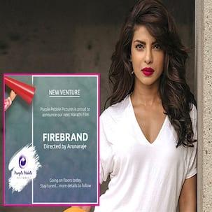 Priyanka Chopra's next Marathi production Firebrand goes on the floor