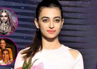 Radhika Apte on Padman-Padmaavat clash : There is no comparison between the two films