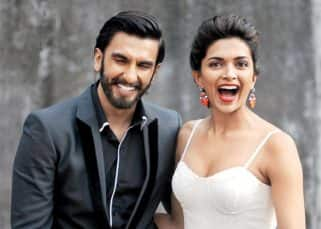 Ranveer Singh can't stop laughing after seeing Deepika Padukone in a 'cone' - view pic