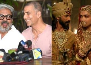 After Sanjay Leela Bhansali, Shahid Kapoor and Deepika Padukone thank Akshay Kumar for averting Pad Man-Padmaavat clash