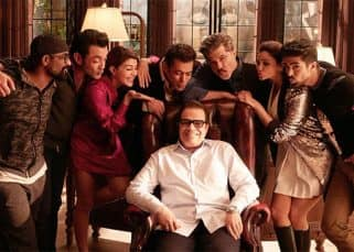 How cute! Salman Khan gets the entire squad of Race 3 to blow kisses at Ramesh Taurani on his birthday